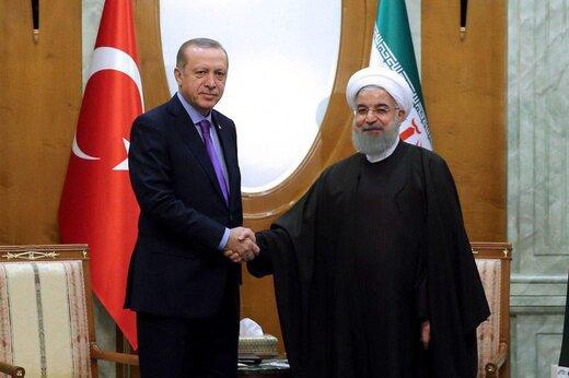 الرئيس روحاني يلتقي الرئيس اردوغان في انقره/صور