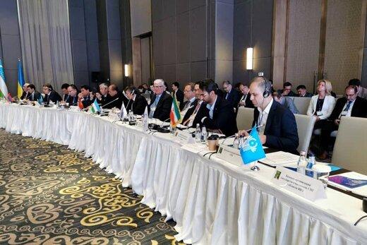 حضور آذری جهرمی در اجلاس RCC- قزاقستان