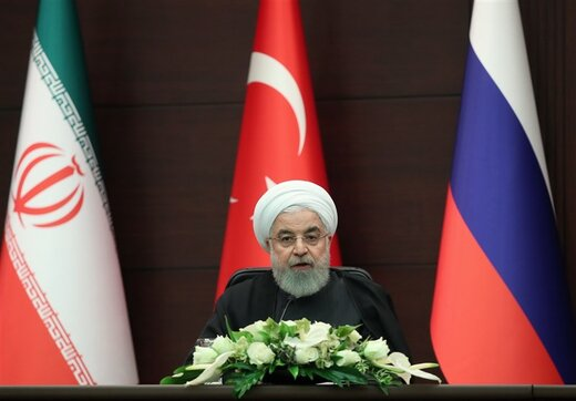 President Rouhani calls for respect for Syrian sovereignty, territorial integrity
