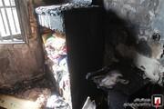 آتش گرفتن منزل و کشته شدن دختر ۲۰ ساله در نجف آباد