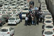 تصاویر | دادستان تهران در انبار خودروهای دپو شده سایپا