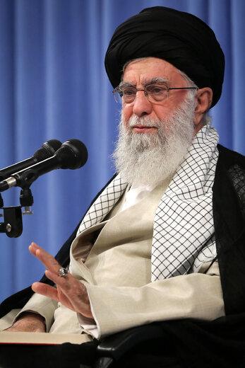 جلسه درس خارج فقه رهبر معظم انقلاب اسلامی
