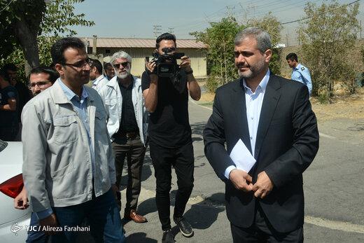 فیلم   بازدید دادستان تهران از انبار خودروهای دپو شده در بزرگراه فتح