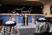 تصاویر | دیدار جمعی از موکبداران عراقی با رهبر انقلاب