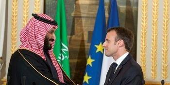 مکرون و بن سلمان درباره آرامکو تلفنی گفتوگو کردند