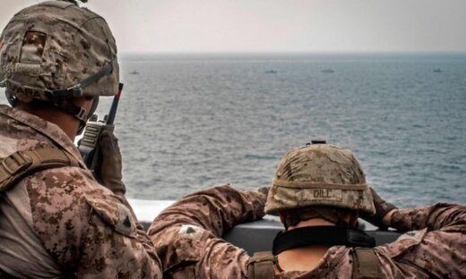 ائتلاف آمریکا مدعی آغاز عملیات در آبهای خلیج فارس شد