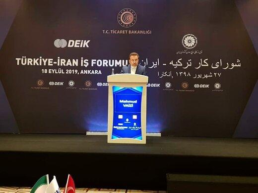 مشکلات تجار ایران و ترکیه حل می شود / مسیر تجارت آزاد بین ایران و ترکیه باز شد