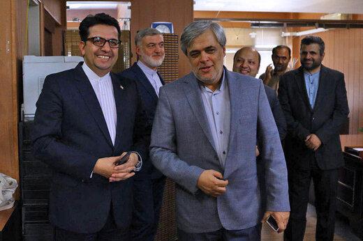 سیدعباس موسوی سخنگوی وزارت امور خارجه، در کافه خبر خبرآنلاین