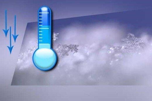 دمای هوای آذربایجانشرقی ۱۰ تا ۱۵ درجه کاهش مییابد