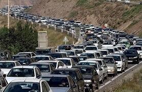 شلوغی جادهها بر اساس آمار؛ راه شمشک - دیزین تا اطلاع ثانوی مسدود است