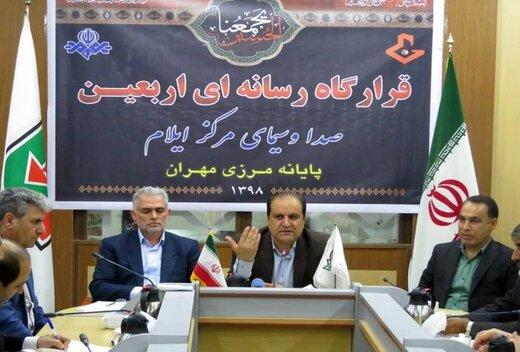 رئیس ستاد اربعین استان ایلام :از اول شهریور تاکنون ۵۶۰ هزار تردد در مهران انجام گرفته است