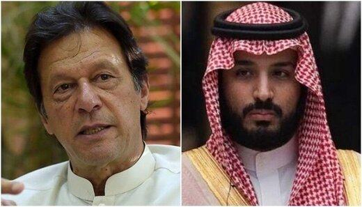 عمران خان و بن سلمان درباره حوادث آرامکو دیدار و گفتوگو کردند