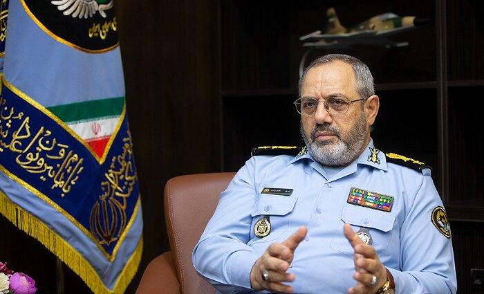 اشراف کامل نیروی هوایی ارتش بر کل منطقه /هیچ جنگنده ای بدون اجازه ایران اجازه عبور ندارد