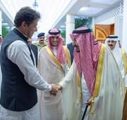 دیدار پادشاه سعودی با نخستوزیر پاکستان