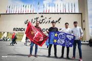 حضور ۶۰ آتش نشان در ورزشگاه آزادی برای نودمین دربی پایتخت