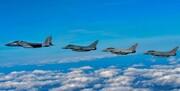 اولین حضور جنگندههای رژیم صهیونیستی در رزمایش هوایی بریتانیا