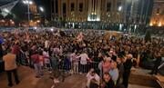 مخالفان دولت گرجستان، تفلیس را به هم ریختند