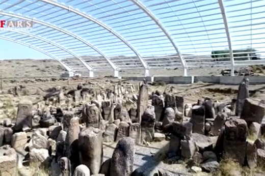 فیلم | تمدن باستانی شهر یئری در شهرستان مشگین شهر اردبیل