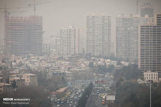 کیفیت هوای تهران در آخرین جمعه تابستان ۹۸