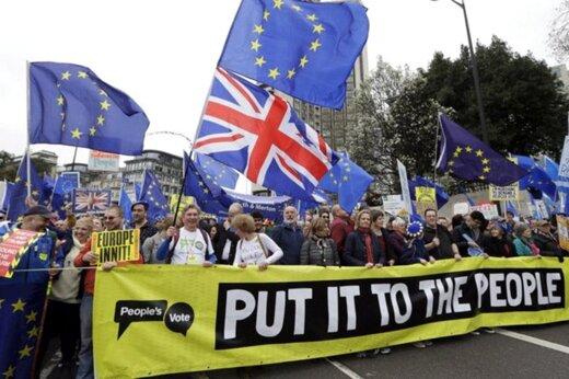 فیلم | آماده باش میلیونها انگلیسی برای تظاهرات علیه برگزیت