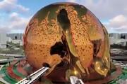 فیلم | ورزشگاه فوقالعاده مدرن قطریها برای جام جهانی که شبیه کره زمین است
