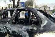 آتش زدن خودرو یکی از مدیران شهرداری آبادان,آتش زدن خودرو