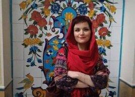 زن لهستانی که به فارسی شعر میگوید