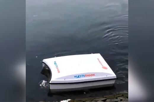 فیلم   ماشینی که میتواند اقیانوسها را از شر زباله خلاص کند