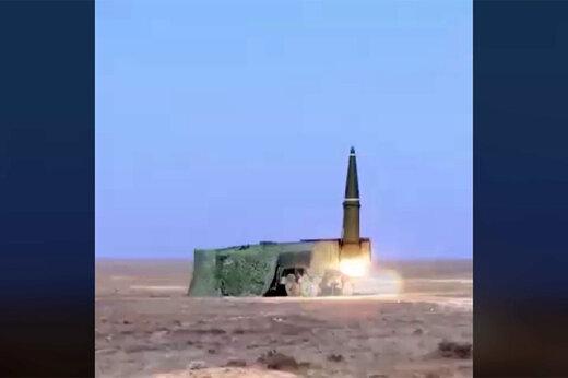 فیلم | شلیک موشک بالستیک اسکندر-ام در قزاقستان