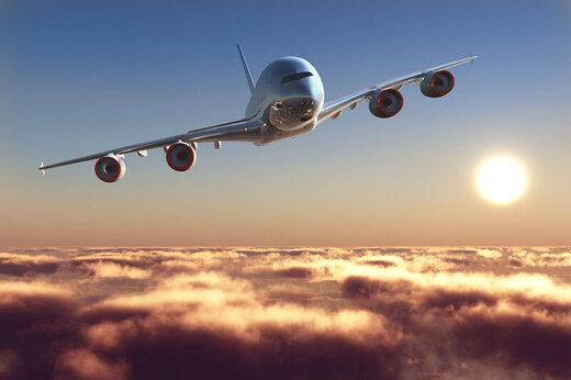 فرود اضطراری یک هواپیمای مسافربری در فرودگاه مشهد