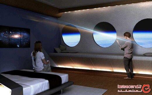 اولین هتل فضایی دارای جاذبه مصنوعی در سال ۲۰۲۵ افتتاح میشود!