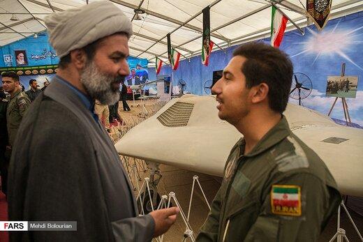 افتتاح نخستین نمایشگاه پهپادهای غنیمتی سپاه