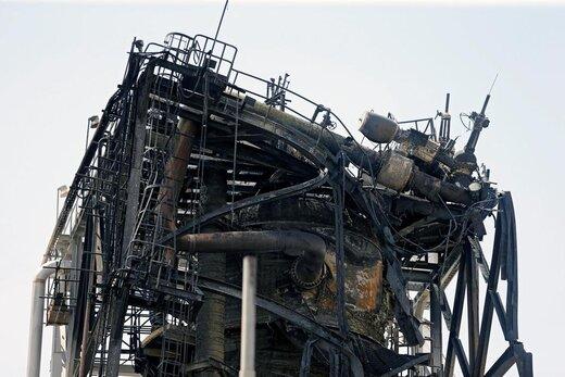 تاسیسات نفتی آرامکو عربستان پس از حملات انصارالله