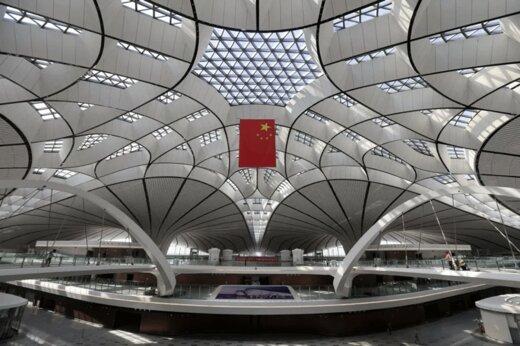 فیلم   فرودگاه 9 میلیارد دلاری چین آماده شد
