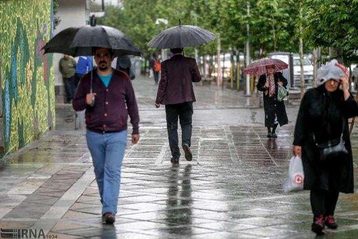 هوای آذربایجانشرقی بارانی میشود