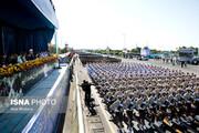 آغاز رژه نیروهای مسلح با حضور رئیسجمهور /حضور فرماندهان ارشد نظامی در مراسم
