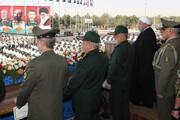 انطلاق الاستعراض العسكري في طهران وجميع المحافظات الايرانية/صور