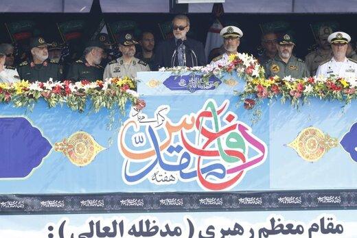 لاريجاني : ايران صديقة لشعوب المنطقة والكيان الصهيوني عدو لها