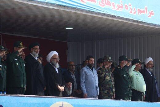استاندار خوزستان:نیروهای نظامی ایران زینت اسلام و مسلمین هستند