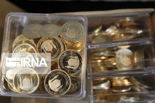کاهش ۳۰ هزار تومانی قیمت سکه