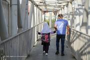 تصاویر | حال و هوای خیابانهای تهران در روز اول مدرسه
