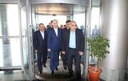 وزير النفط والثروة المعدنية السوري يصل الى عسلوية