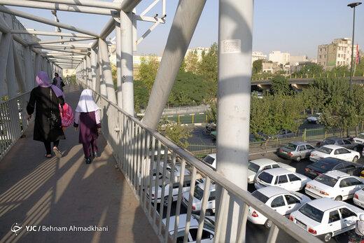روز اول مهر فقط ترافیک و شلوغی نیست،این کلاس درس را ببینید!/ عکس