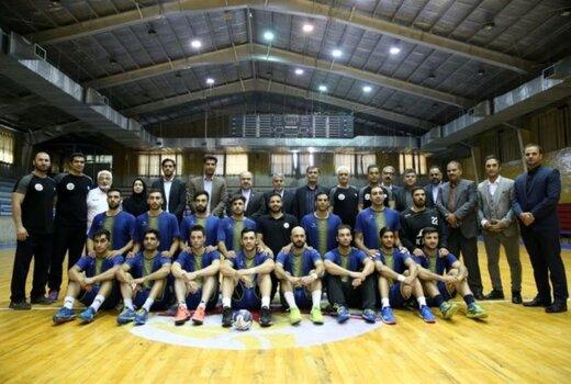 بازدید وزیر ورزش و رییس کمیته ملی المپیک از اردوی تیم ملی هندبال