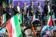 تصاویر | شهردار تهران ۱۰۰ دستگاه دوچرخه به دانشآموزان داد