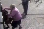فیلم |  نبرد جانانه پیرزن 81 ساله با دزد در انگلیس