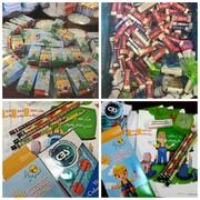 توزیع نوشتافزار در مدارس مناطق کمبرخوردار از محل صرفهجویی چاپ قبوض کاغذی برق