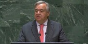 موضعگیری گوترش در سخنرانی مجمع عمومی درباره حمله آرامکو