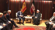President Rouhani confers with Spanish PM on bilateral ties
