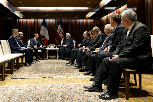 Iran, France presidents reaffirm de-escalation in Middle East